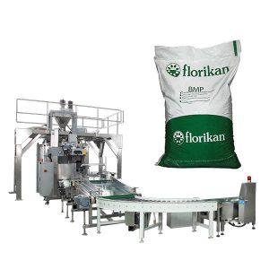 אוטומטי מכונת אריזה גורפת אבקת חלב ב 10kg 25kg שקיות