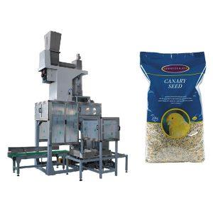 20kg זרעים פתוחים Bag Bag & שק מילוי סולמות אוטומטי דגנים שקיות גדולות מכונת אריזה