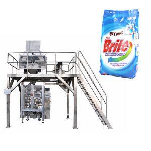 4 ראש משקולת ליניארית אבקת כביסה אבקת כביסה אבקת מכונת אריזה