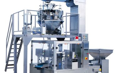 קפה אוטומטי קפה מזון סיבובית רוכסן שקית מכונת אריזה