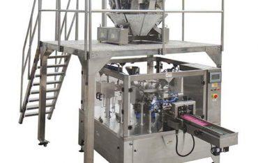אוטומטי רוטרי מזון אריזה מכונת רוכסן התיק