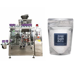 אוטומטי סיבובית שקית שקית אריזה מכונת מלח