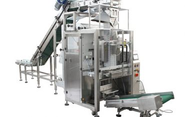 Automatic bailing machine (small pouch in big bag )