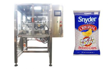תנועה רציפה אנכי חטיף מזון גרגר אריזה מכונה