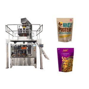 אגוזים רוכסן Pouch אוטומטי מילוי מכונת אריזה