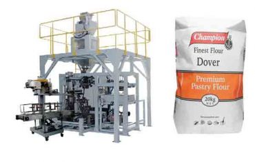 מכונת bagging אוטומטית עבור 20kg מכונת אריזה קמח