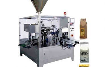 Automatic pre-made zipper  pouch packing machine